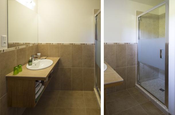 Salle de bain chambre Viognier