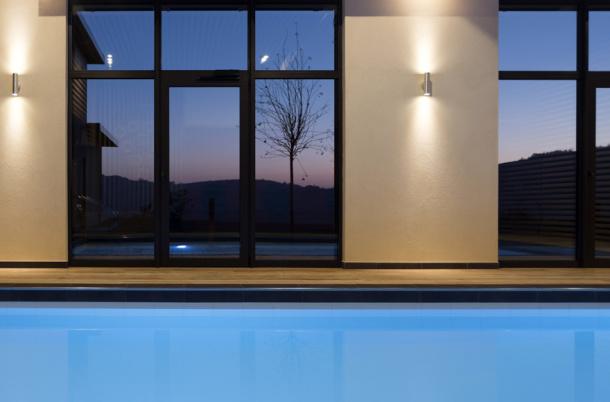 Piscine sauna spa hammam Buis du Chardonnet